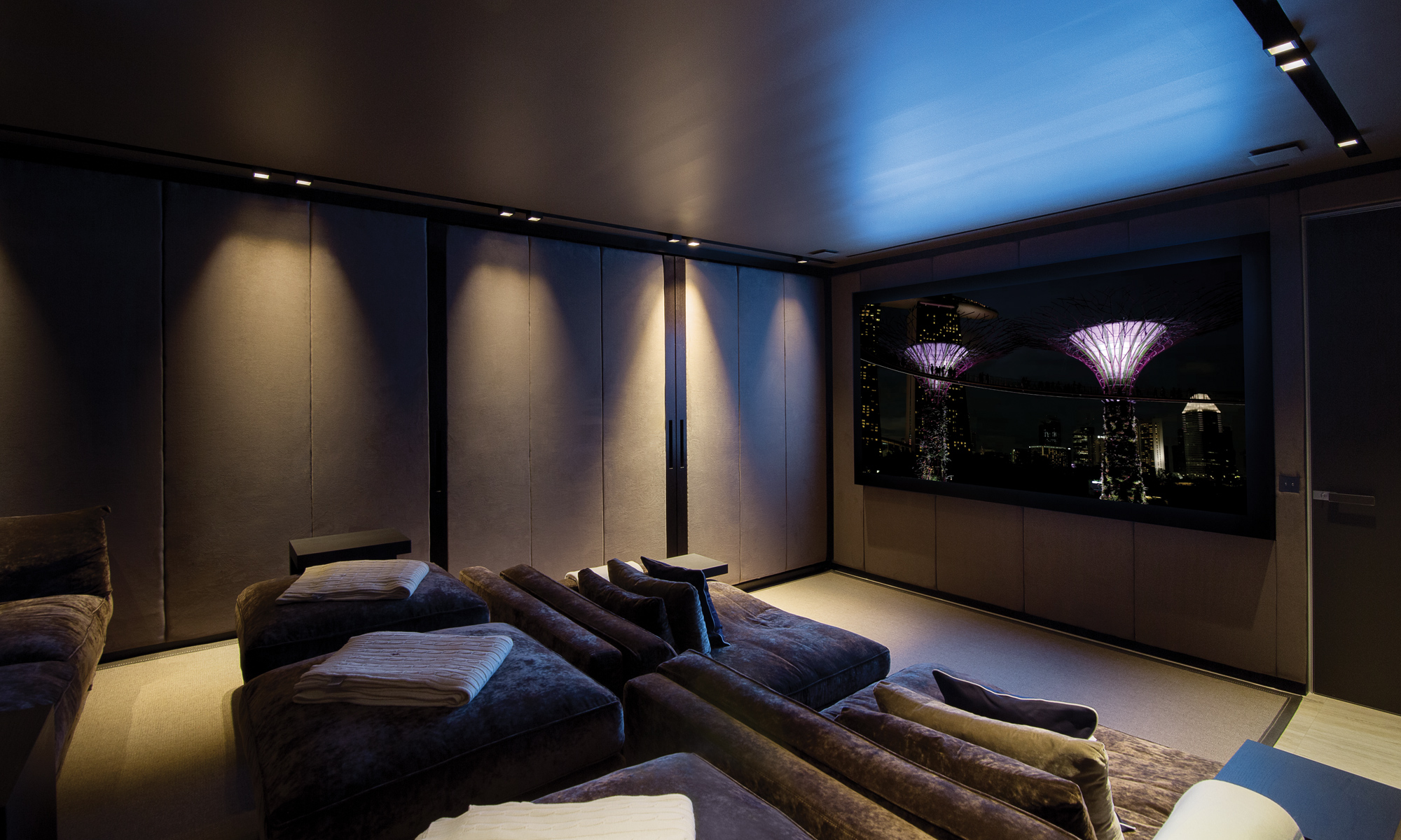 Enjoy the latest releases within your own private cinema.